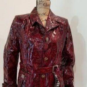 Jackets & Blazers - Beautiful lambskin, very rare leather coat sz M